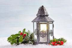 Christmas lantern Royalty Free Stock Photos