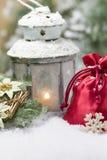 Christmas lantern. Stock Images
