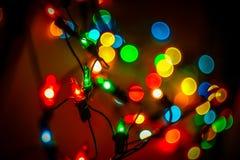 Christmas lanterns Stock Images