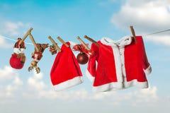 Christmas Laundry Stock Photos
