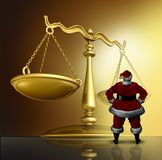 Christmas Law Issues Stock Images