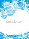 Christmas layout Royalty Free Stock Photo