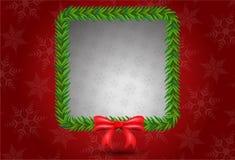 Christmas leaf bunch square shape Stock Photo