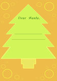 Christmas Letter_2 Royalty Free Stock Image