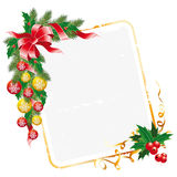 Christmas letter decoration Stock Photography