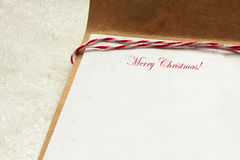 Christmas  letter Royalty Free Stock Photos