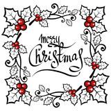 Merry christmas-14 Stock Photography