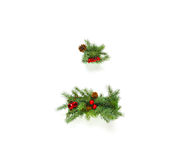 Christmas letters collection Royalty Free Stock Images
