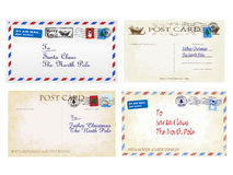 Christmas Letters Royalty Free Stock Photo