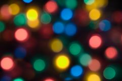 Christmas Light. Abstract background of color christmas light Stock Image