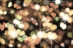 Christmas light. A christmas bokeh colored light background stock photo