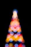 christmas light Στοκ φωτογραφίες με δικαίωμα ελεύθερης χρήσης