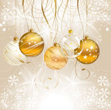 Christmas light background Stock Photos