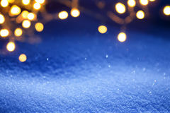 Christmas light background Royalty Free Stock Photos