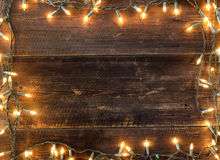 Christmas light background stock images