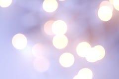Christmas light bokeh Royalty Free Stock Image