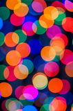Christmas light bokhe Royalty Free Stock Images