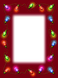 Christmas Light Border Stock Photos