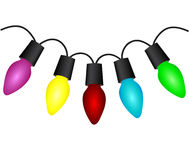 Free Christmas Light Bulbs Stock Photo - 36132250