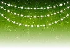 Christmas light bulbs Royalty Free Stock Photography