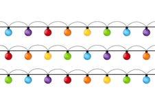 Christmas light bulbs  Stock Photo