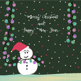 Christmas Light Card3 Royalty Free Stock Images