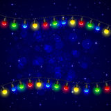 Christmas light Stock Photos