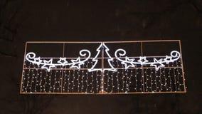Christmas light decor Royalty Free Stock Images