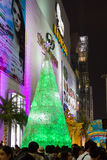 Christmas Light Decoration for Winter Festival at Siam Paragon Shopping Mall Stock Photos