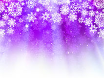 Christmas light purple background. EPS 8 Stock Images