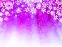 Christmas light purple background. EPS 8 Stock Image