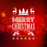 Christmas light vector background Royalty Free Stock Image