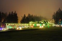 Christmas lighting Stock Photo