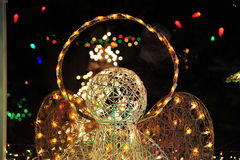 christmas lighting Στοκ Εικόνες