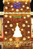 Christmas lighting Royalty Free Stock Images