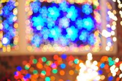 Christmas lighting Royalty Free Stock Photos