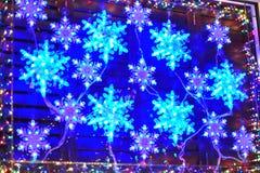 Christmas lighting Royalty Free Stock Image