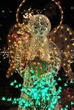 christmas lighting Στοκ εικόνες με δικαίωμα ελεύθερης χρήσης