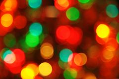 Christmas lighting background Royalty Free Stock Photo