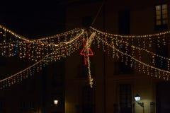 Christmas Lighting Star Royalty Free Stock Images