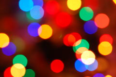 Christmas lights Royalty Free Stock Image