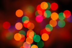 Christmas lights Stock Image