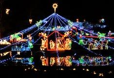 Christmas lights Stock Photos