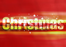 Christmas lights. Red defocused christmas lights background (no mesh or transparency used Royalty Free Stock Images