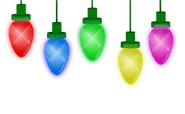 Christmas Lights Royalty Free Stock Photos