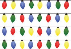 Christmas Lights. On a white background Vector Illustration