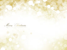 Christmas lights. Gold background of Christmas lights, with beautiful sparkling and diffusion Royalty Free Stock Photos