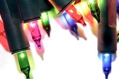 christmas lights Στοκ Φωτογραφίες