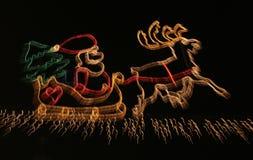 christmas lights Στοκ φωτογραφία με δικαίωμα ελεύθερης χρήσης