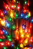 Christmas lights. Some close-up on Christmas lights Royalty Free Stock Image